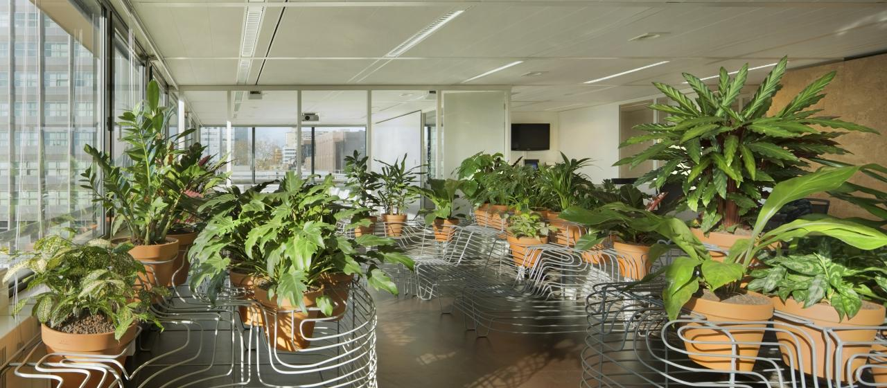 A Design Commissioned By Atelier Rijksbouwmeester For The Utrecht Tax Office.  This Project Takes The Idea Of An Indoor Garden Quite Literally: An  Abundance ...